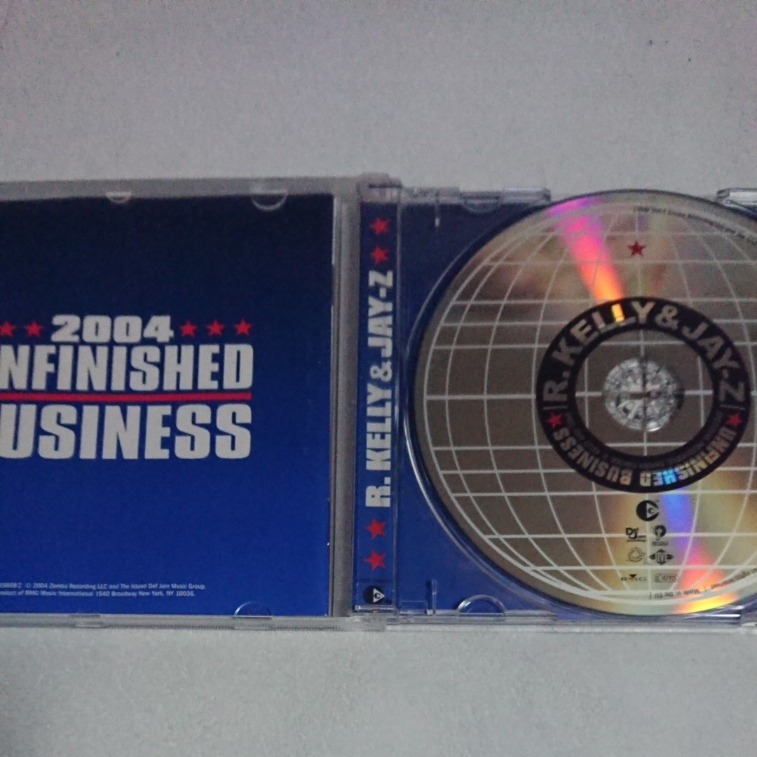 R.KELLY & JAY-Z「UNFINISHED BUSINESS」 アルバム CD 洋楽