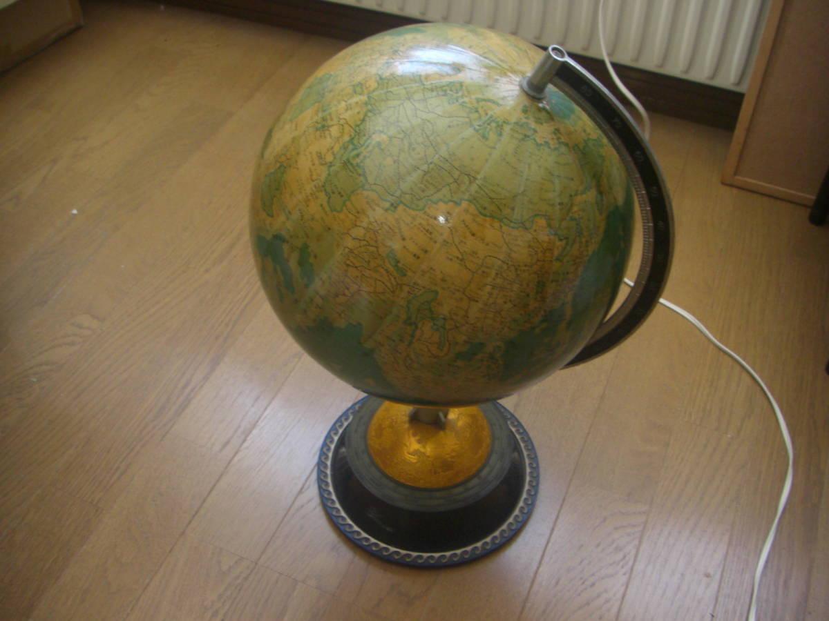 レトロ★地球儀★インテリア_画像1