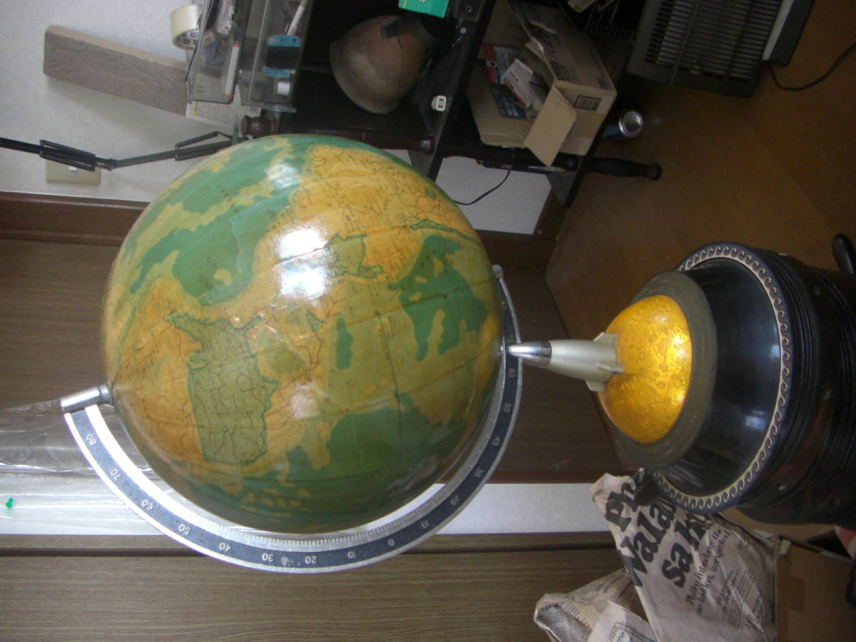 レトロ★地球儀★インテリア_画像4