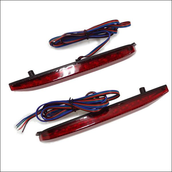 LED リフレクター 左右セット トヨタ 汎用 トリプルアクション 流れるウインカー (D2) メール便/21д_画像2