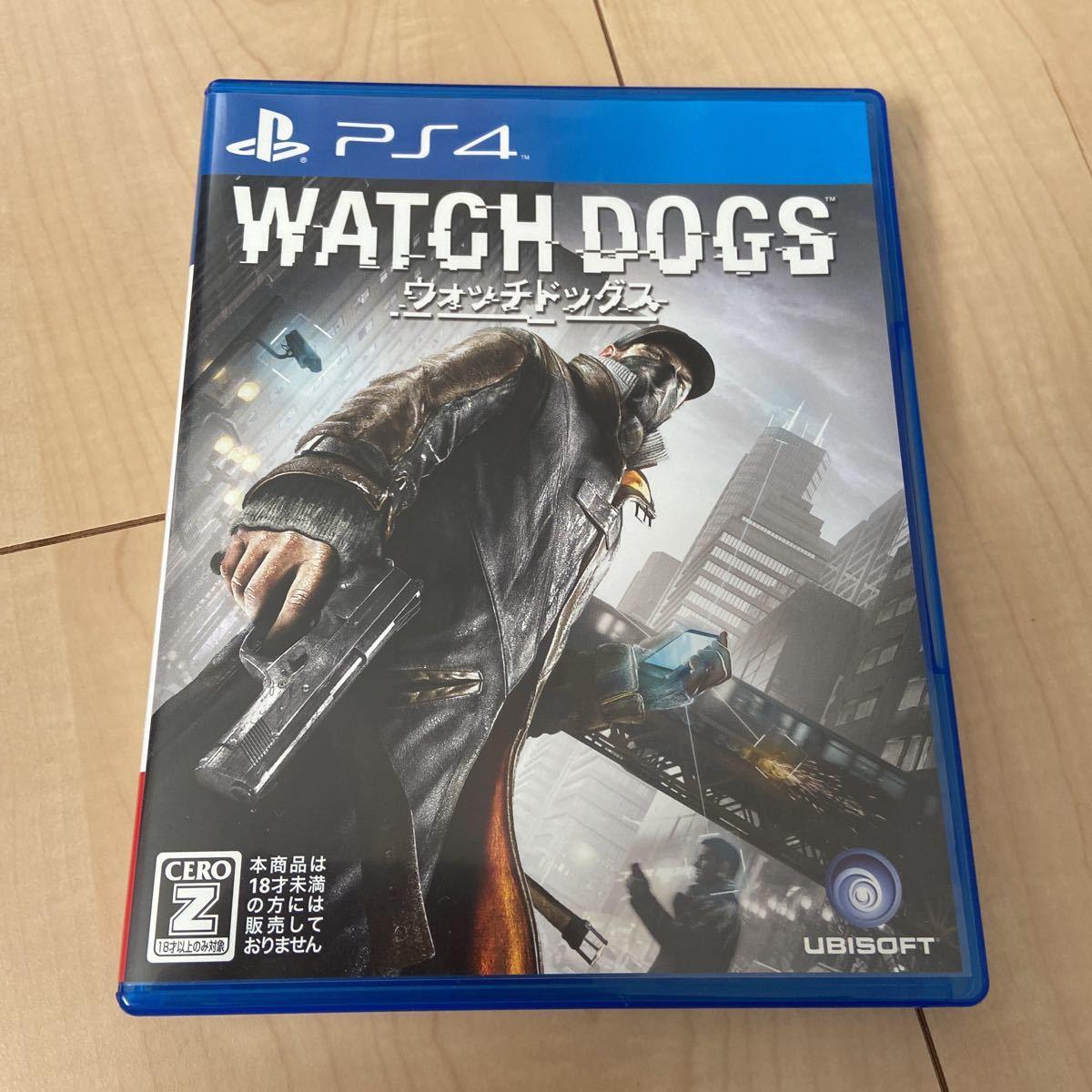 PS4 ウォッチドッグス WATCH DOGS