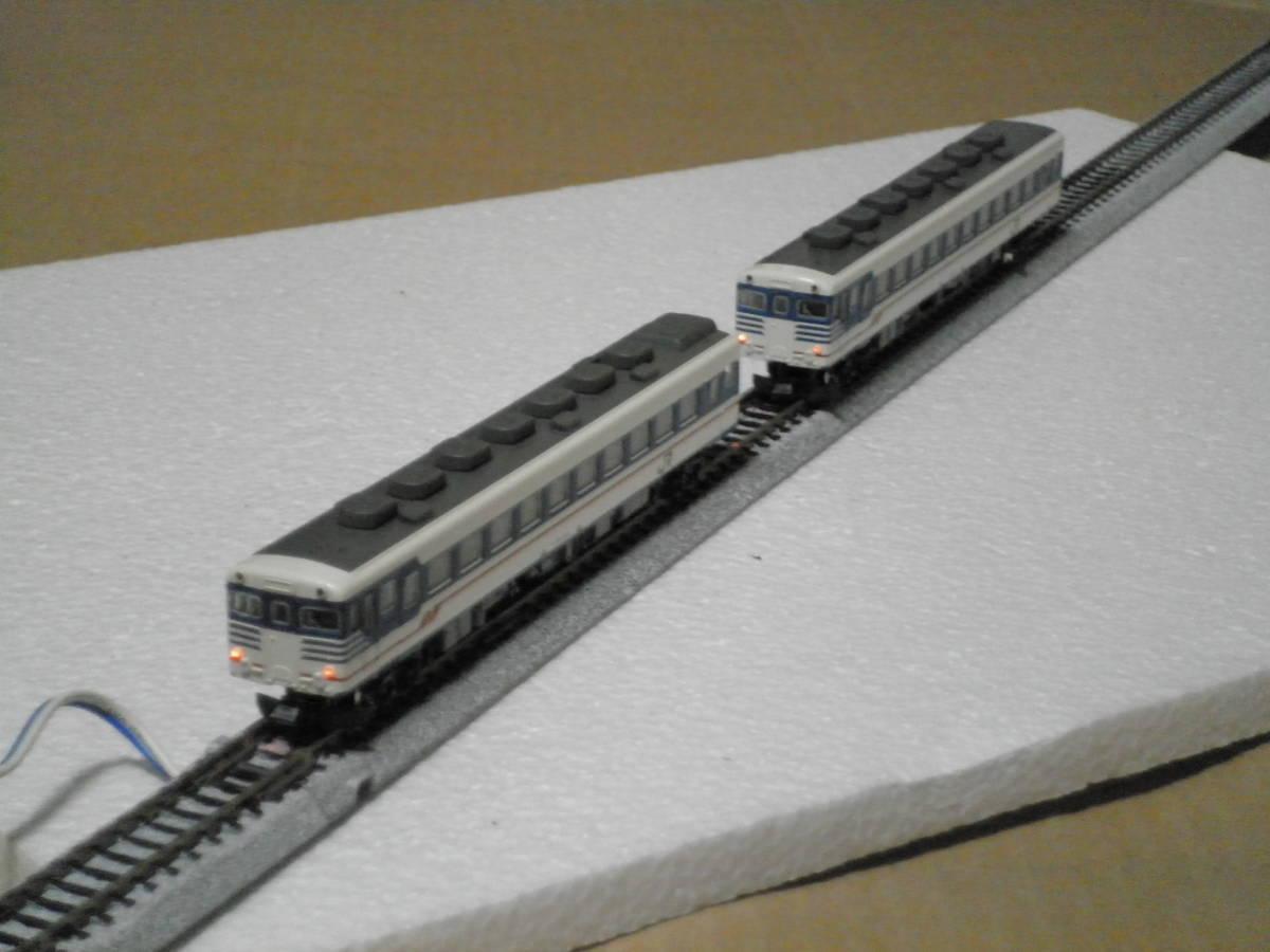 KATO製 キハ58系 急行形気動車(新潟色) 3両セット 中古品 _画像9