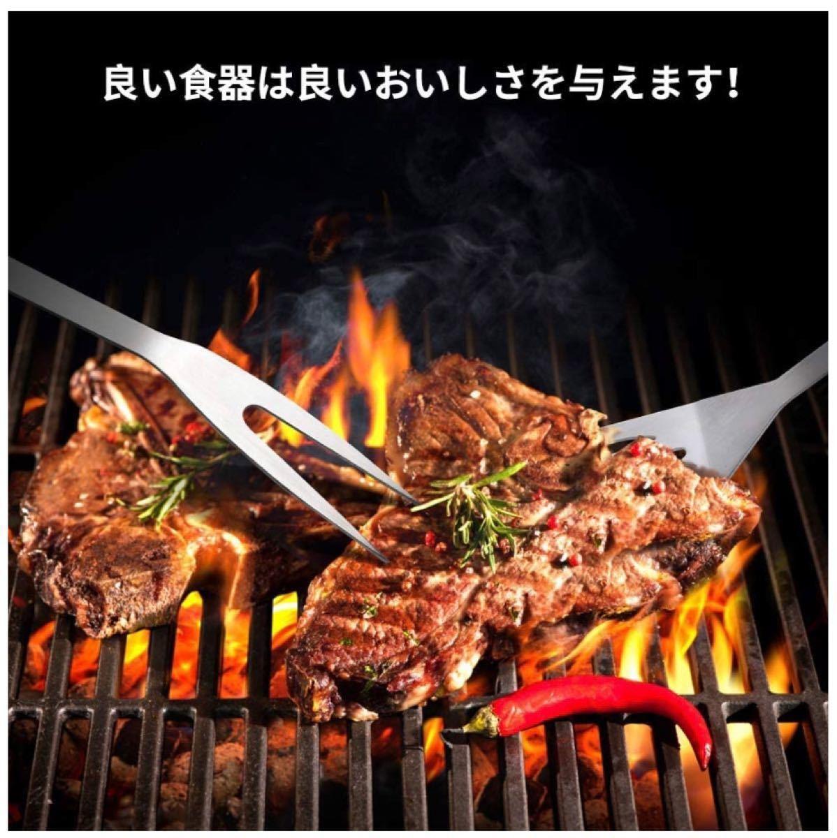 バーベキュー 調理器具 BBQ セットクッキングツール キャンプ用品 6点セット