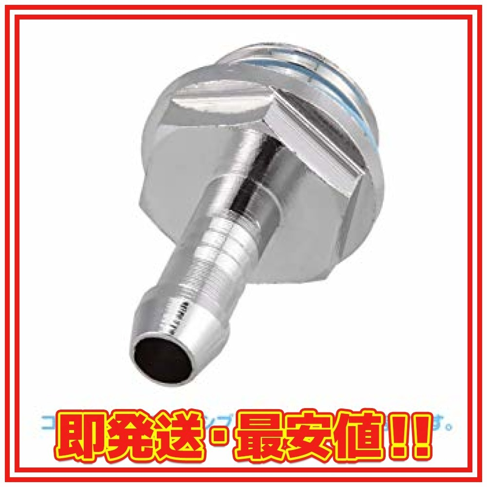 11mm Acouto [水冷フィッティング] 6個入り 水冷ツータッチ継手G1 / 4チューブ用チューブコネクタ pc用 (1_画像3