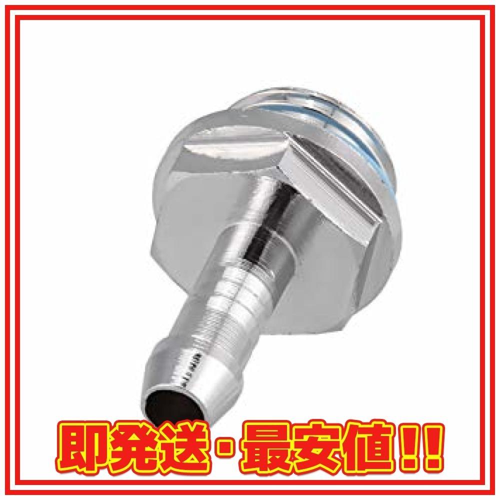 11mm Acouto [水冷フィッティング] 6個入り 水冷ツータッチ継手G1 / 4チューブ用チューブコネクタ pc用 (1_画像9