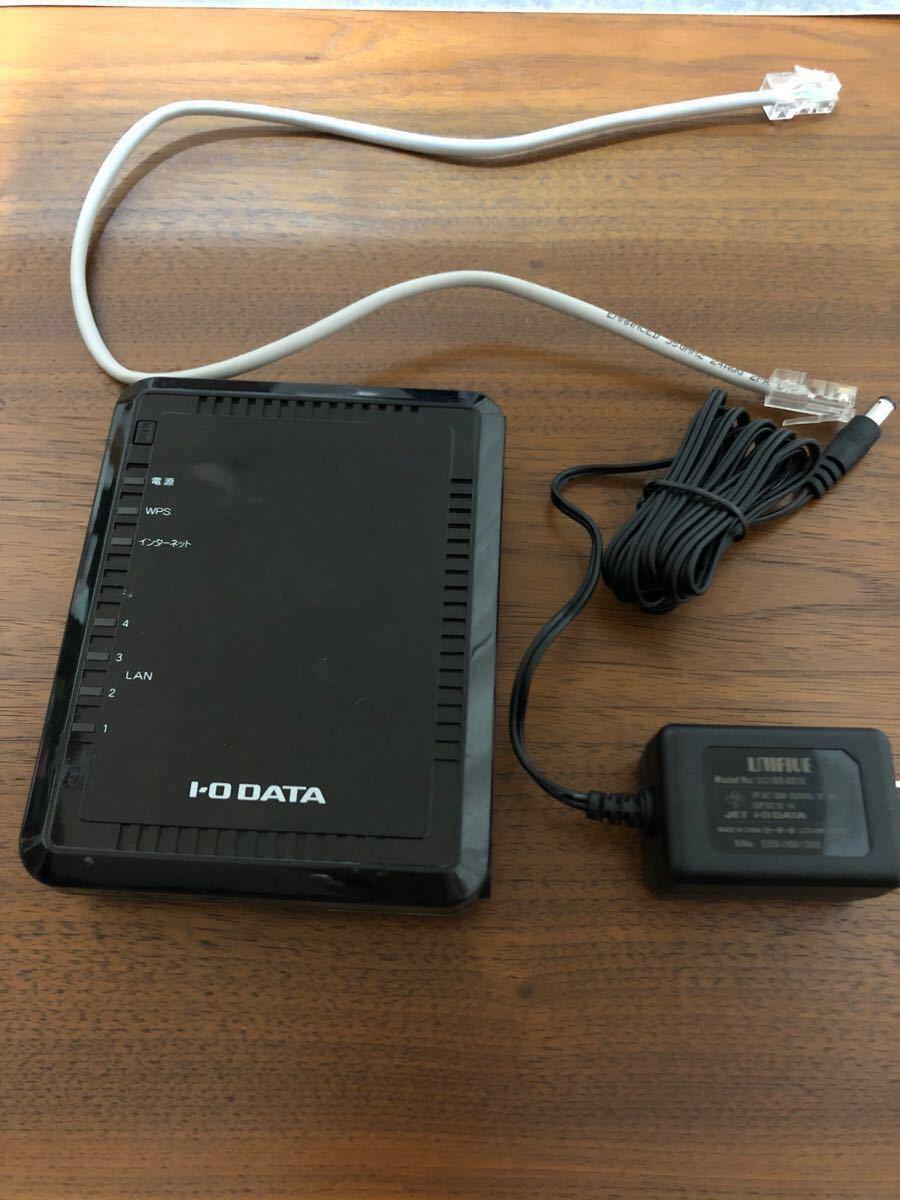 無線LANルーター IOデータ WIN-G300R2
