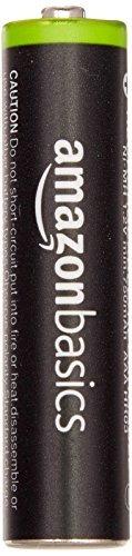 ベーシック 充電池 充電式ニッケル水素電池 単4形4個セット (最小容量750mAh、約1000回使用可能)_画像2