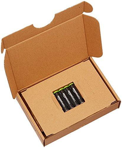 ベーシック 充電池 充電式ニッケル水素電池 単4形4個セット (最小容量750mAh、約1000回使用可能)_画像4