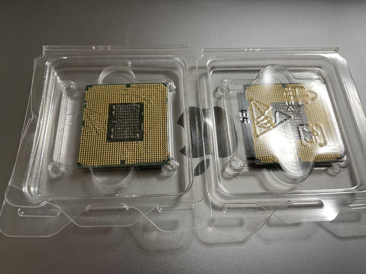 同一ロット INTEL Xeon X5680 CPU ☆動作品☆1年保証☆グリス付 SLBVX /3.33GHZ /2枚セット #1_画像2