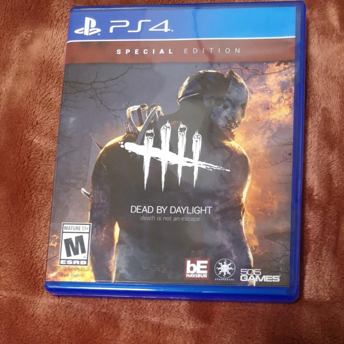 【PS4】 Dead by Daylight [輸入版:北米] デッドバイデイライト 海外版 北米版