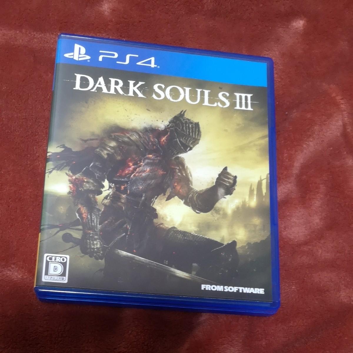 PS4ソフト ダークソウル3 DARK SOULS DARK SOULS III