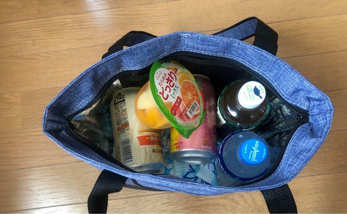 保冷保温ランチバッグ お弁当袋 食品収納 通勤 通学 遠足アウトドア使い可能