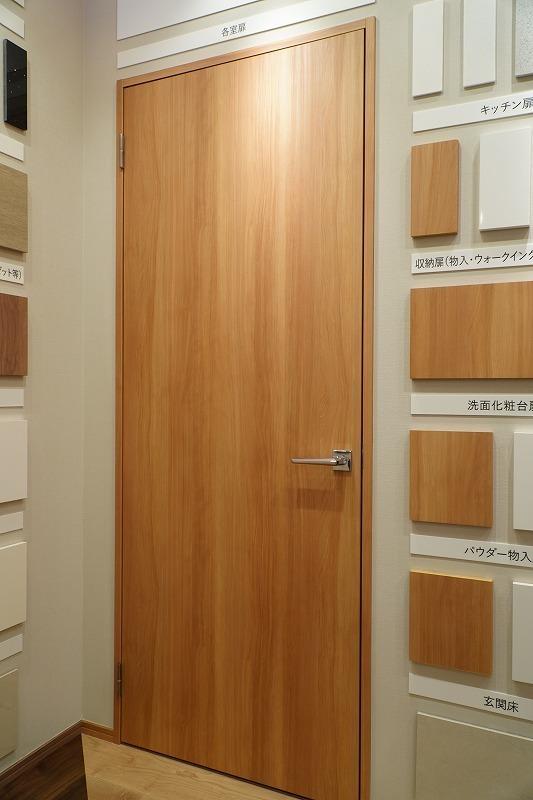 J12A-D6 ◇ 850*2125(枠外) ◇ 左吊ドア ◇ KAWAJUNレバーハンドル付き ◇ 枠付 ◇ 展示品_画像1