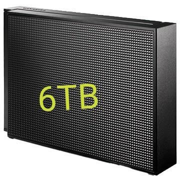 【新品】I-O DATA 外付けハードディスク 6TB