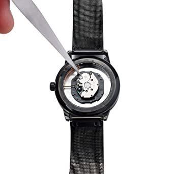 144 腕時計修理工具セット 2019年最新版 腕時計工具キット 時計バンド調整工具 腕時計修理ツール 時計ベルト交換修理サイズ_画像2
