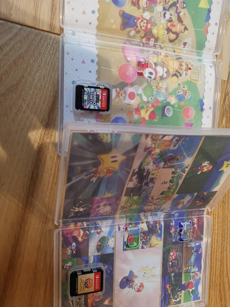 Switch スーパーマリオパーティ と スーパーマリオ3Dコレクション