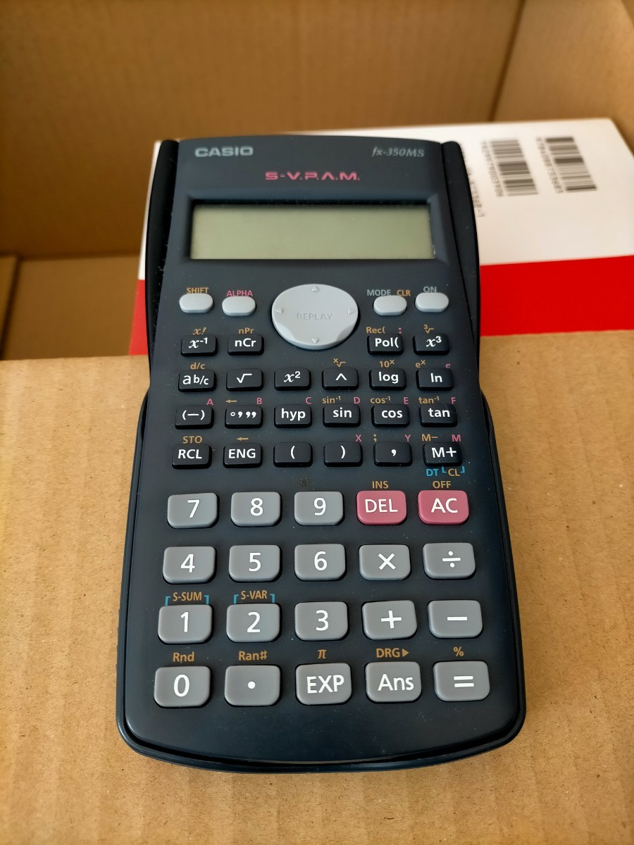 関数電卓 CASIO カシオ関数電卓 カシオ fx-375ES