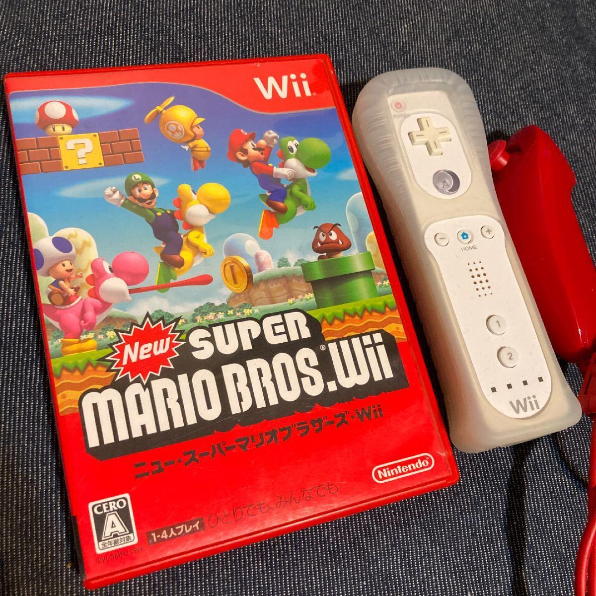 Wii スーパーマリオブラザーズ リモコン ヌンチャク
