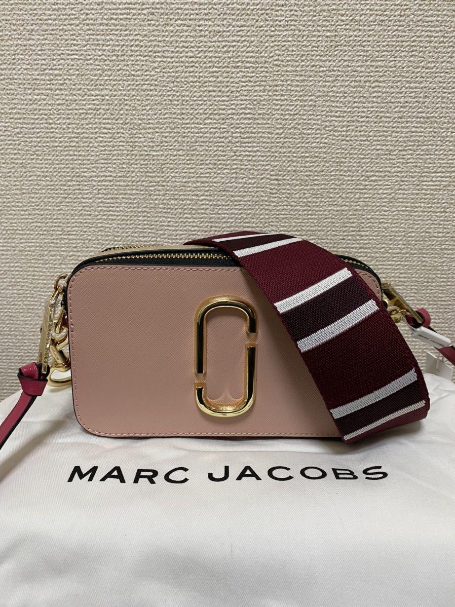 【新品未使用】1円マークジェイコブス MARC JACOBS スナップショット カメラバッグ ショルダーバッグ 女性用