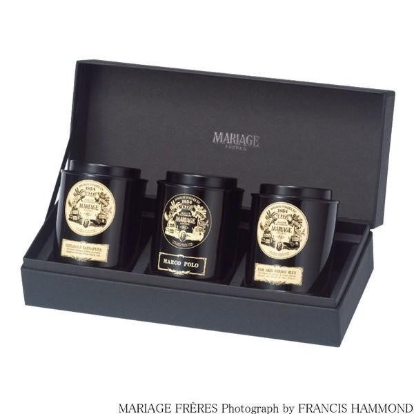 マリアージュ フレール 紅茶の贈り物 (マルコポーロ、フレンチブルー、ラトナピュラ) 1セット