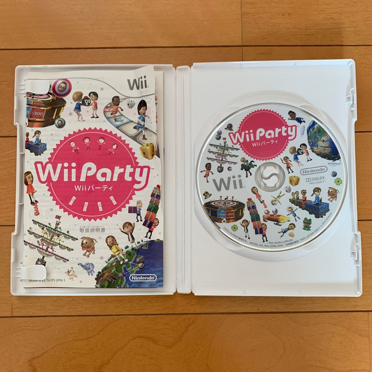 Wiiパーティ Wiiソフト