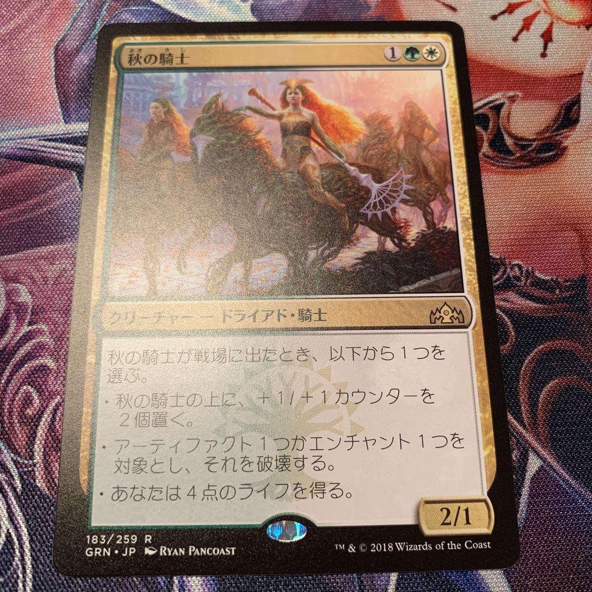 MTG 秋の騎士/Knight of Autumn_画像1