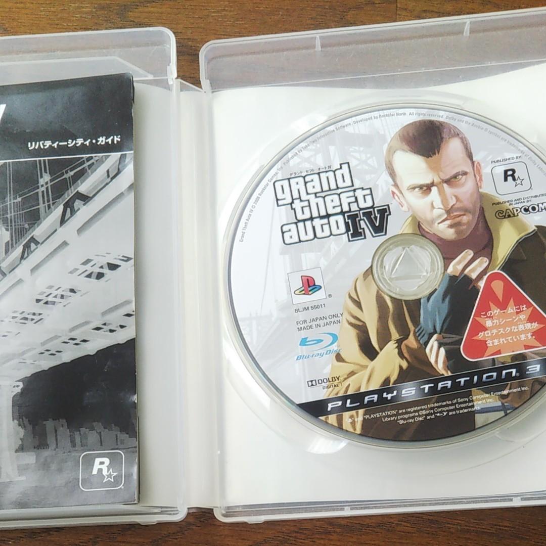 PS3 グランド・セフト・オートIV