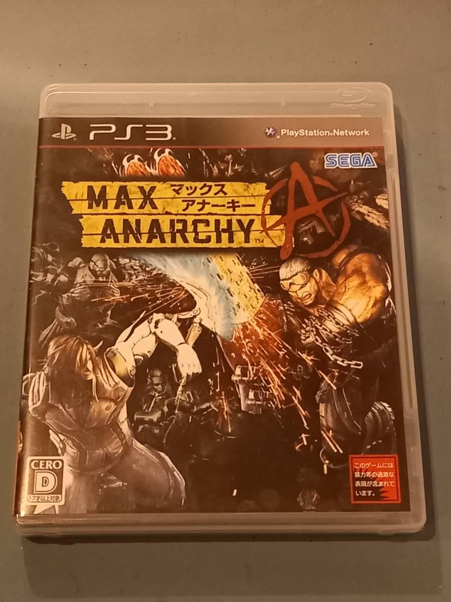 中古 PS3 MAX ANARCHY_画像1