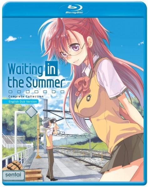 【送料込】あの夏で待ってる 全12話+OVA(北米版 ブルーレイ) Waiting in the Summer blu-ray BD