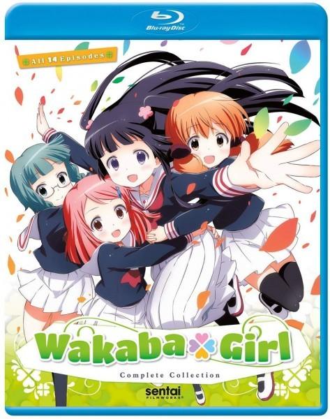 【送料込】わかば*ガール 全14話(北米版 ブルーレイ) Wakaba Girl blu-ray blu-ray BD