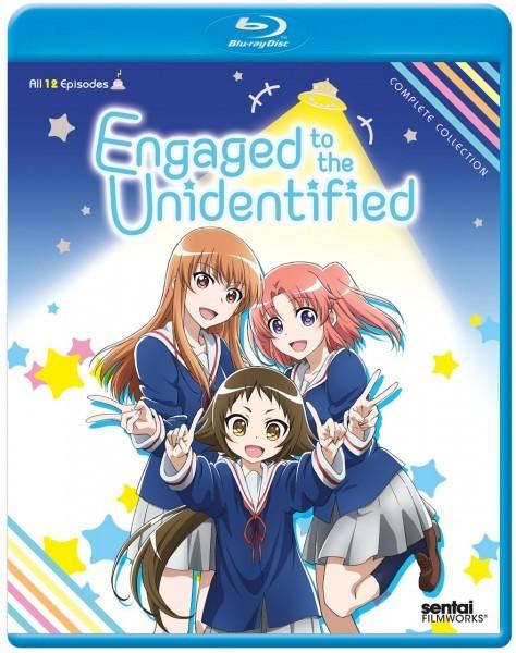 【送料込】未確認で進行形 全12話 (北米版 ブルーレイ) Engaged to the Unidentified blu-ray BD