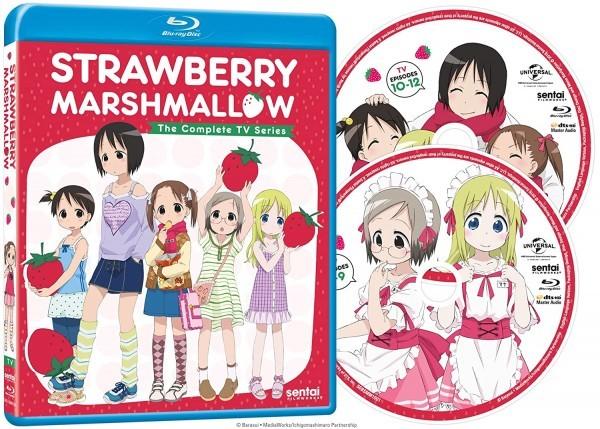 【送料込】苺ましまろ TV版 全12話 (北米版 ブルーレイ) Strawberry Marshmallow: The Complete TV Series blu-ray BD