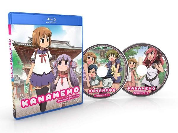 【送料込】かなめも 全13話 (北米版 ブルーレイ) kanamemo blu-ray BD