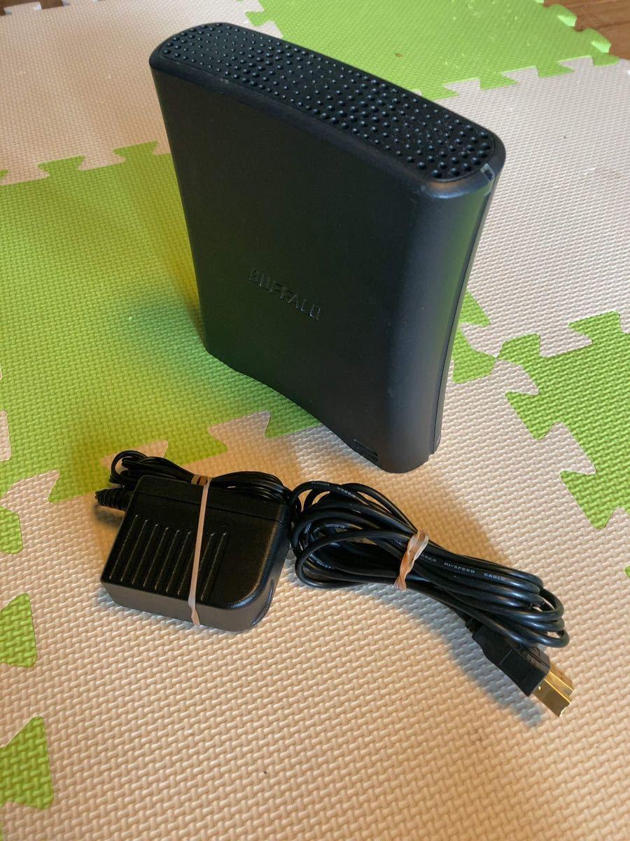 バッファロー 外付けハードディスク 2T hd-cb2.0tu2