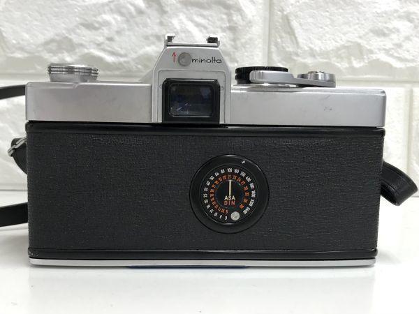 minolta SR-7 ミノルタ SANKYO KOHKI KOMURA f=135mm 1:3.5 動作未確認 一眼レフ カメラ レンズ 中古 fah 3Y160S_画像4