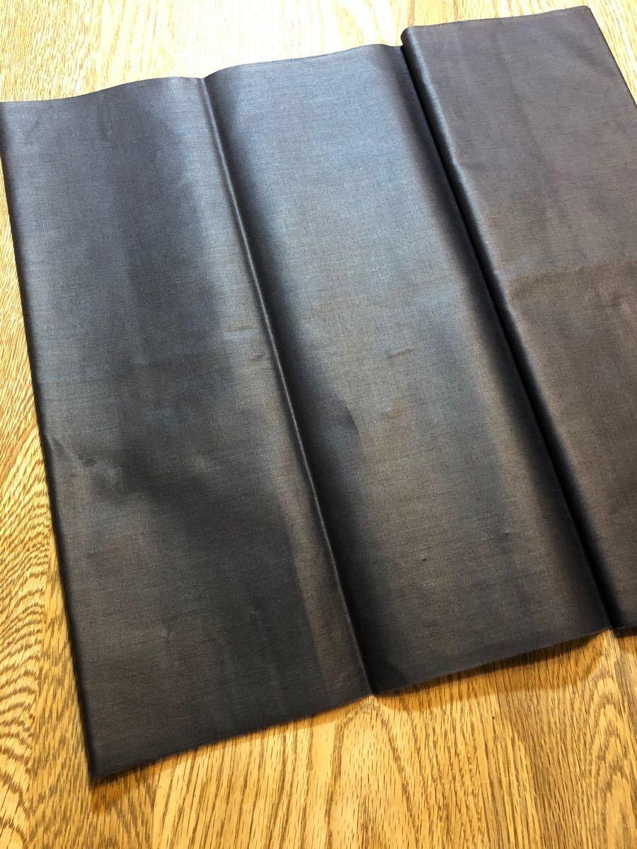 ブロード生地 ネイビーブラック ハギレ 35×200cm