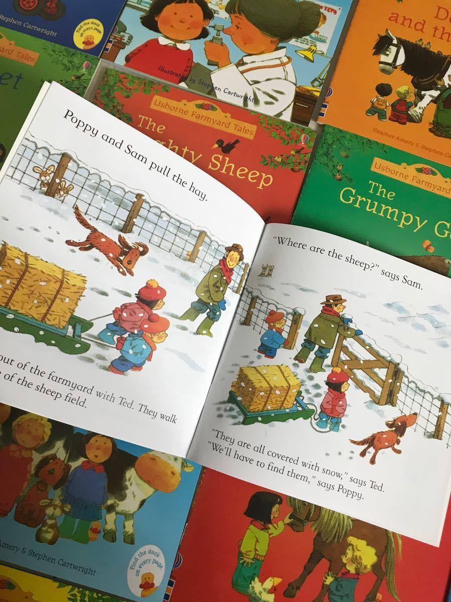 (価格割引)英語絵本 usborne farmyard tales 20冊セット