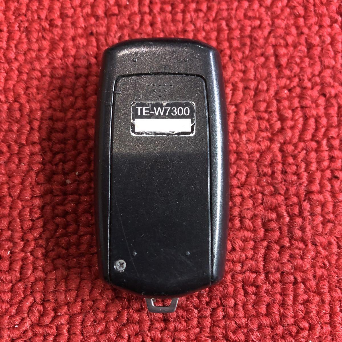 カーメイト TE-W7300 エンジンスターター リモコン 作動確認済み NN510_画像3