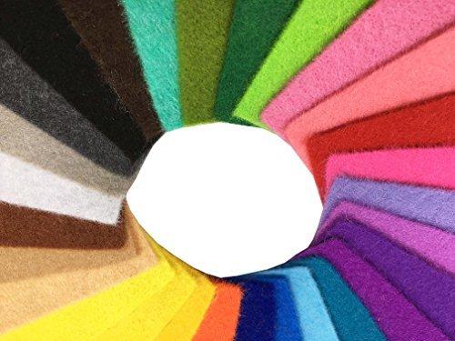 ≪限定1点≫44枚 15cm x 15cm 28枚 柔らかいタイプ 羊毛フェルト クラフト DIY手芸用 不織布 選べるサイズ&_画像3