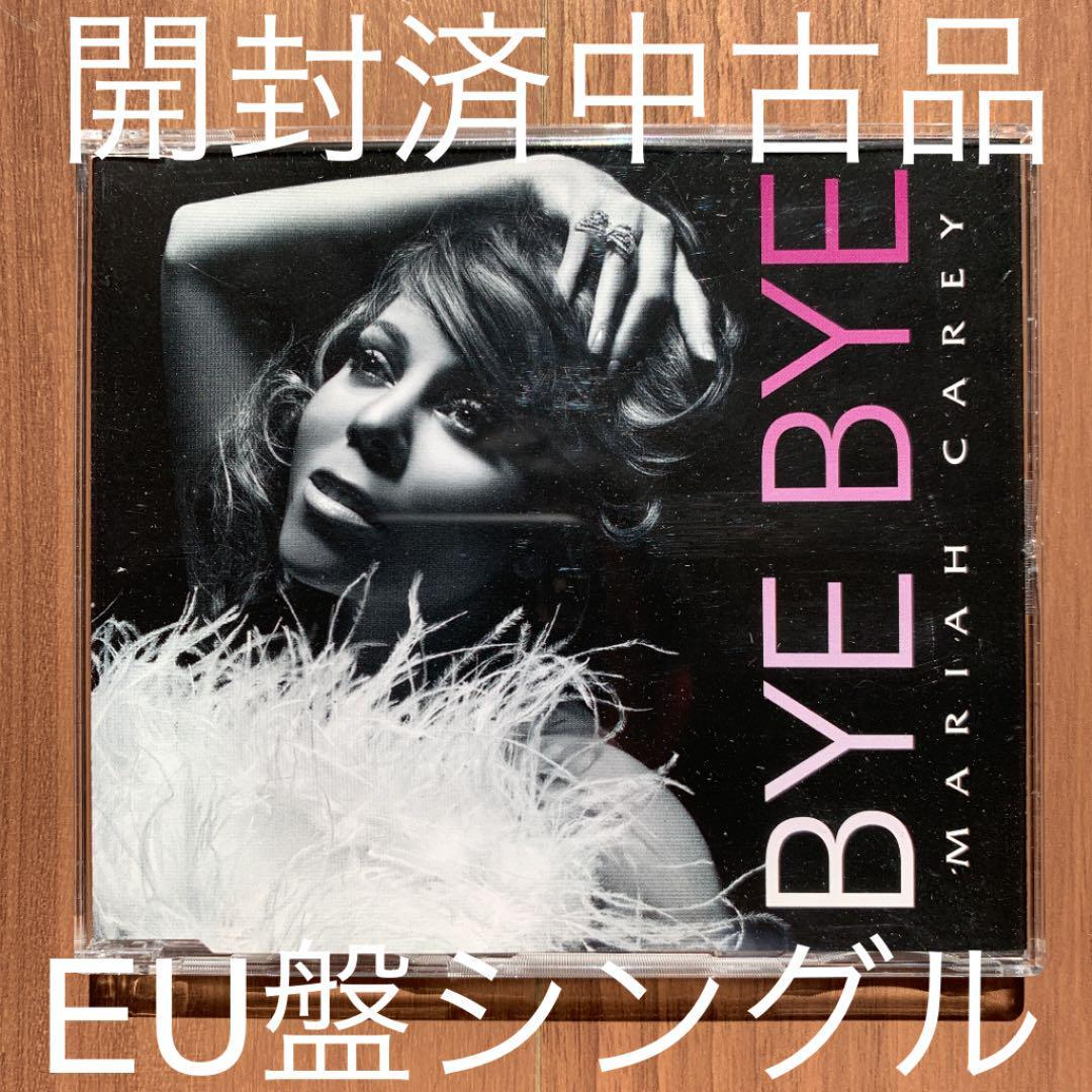 Mariah Carey マライア・キャリー Bye Bye UK盤シングル 開封済中古品