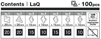 残り1点♪ラキュー (LaQ) フリースタイル(FreeStyle) 100ブラック_画像2