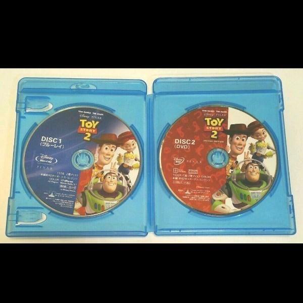 ディズニー ピクサー 廃盤 トイ・ストーリー2('99米)〈Blu-ray+本編DVD付・2枚組〉国内正規品 ブルーレイ