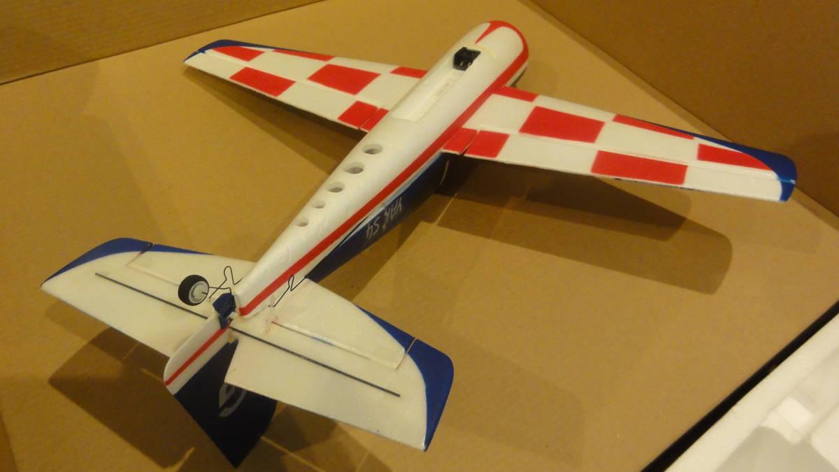 希少 モード1! 飛行重量100g未満! ナインイーグルスNineEagles YAK54 RTF3軸ジャイロ超小型超軽量アクロ機 飛行機 室内機RTFセット未飛行_画像5