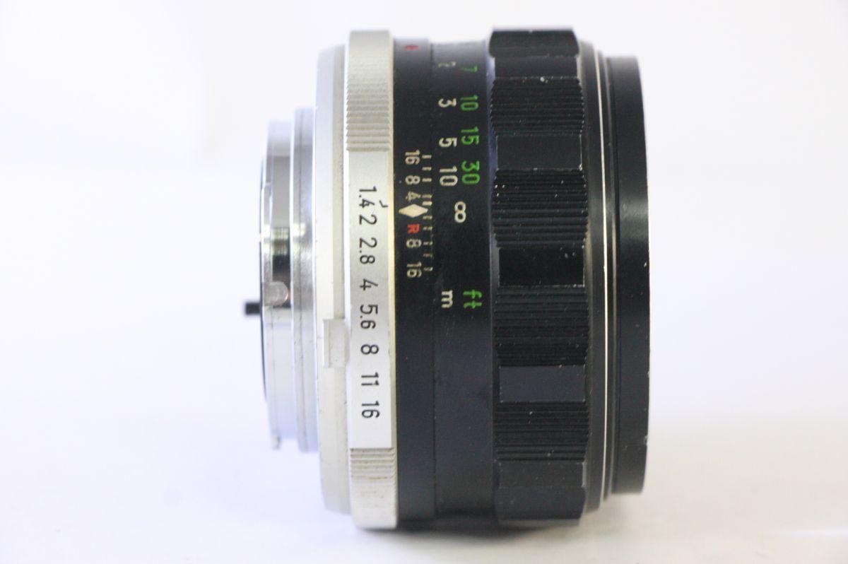 実用★ミノルタ MINOLTA MC ROKKOR-PF 58mm F1.4★薄カビ・クモリ★KKK316_画像2