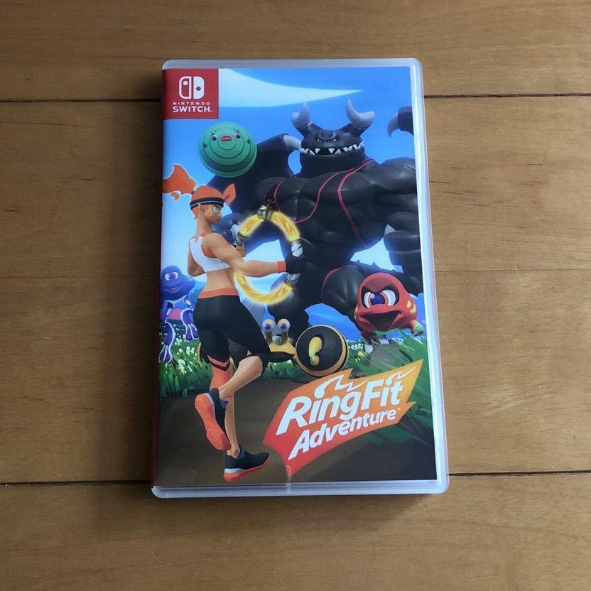 送料無料 美品 ケースのみ リングフィット アドベンチャー Nintendo Switch
