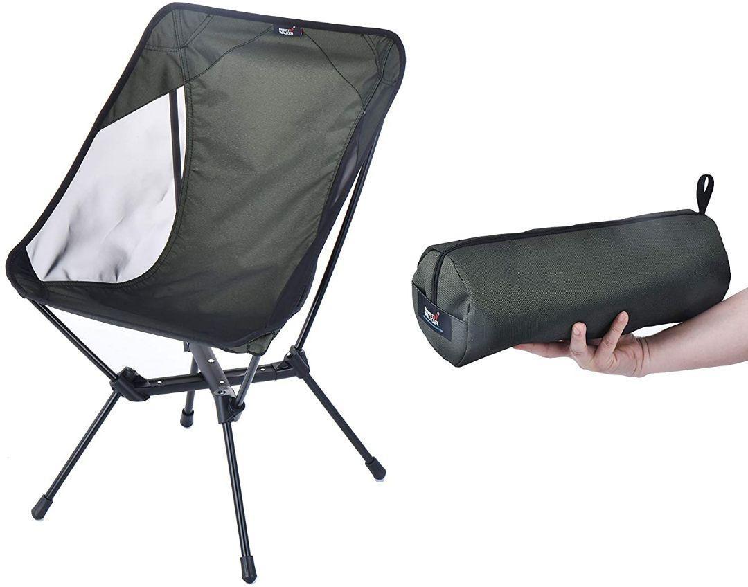 アウトドアチェア キャンプ椅子 カラー: 緑