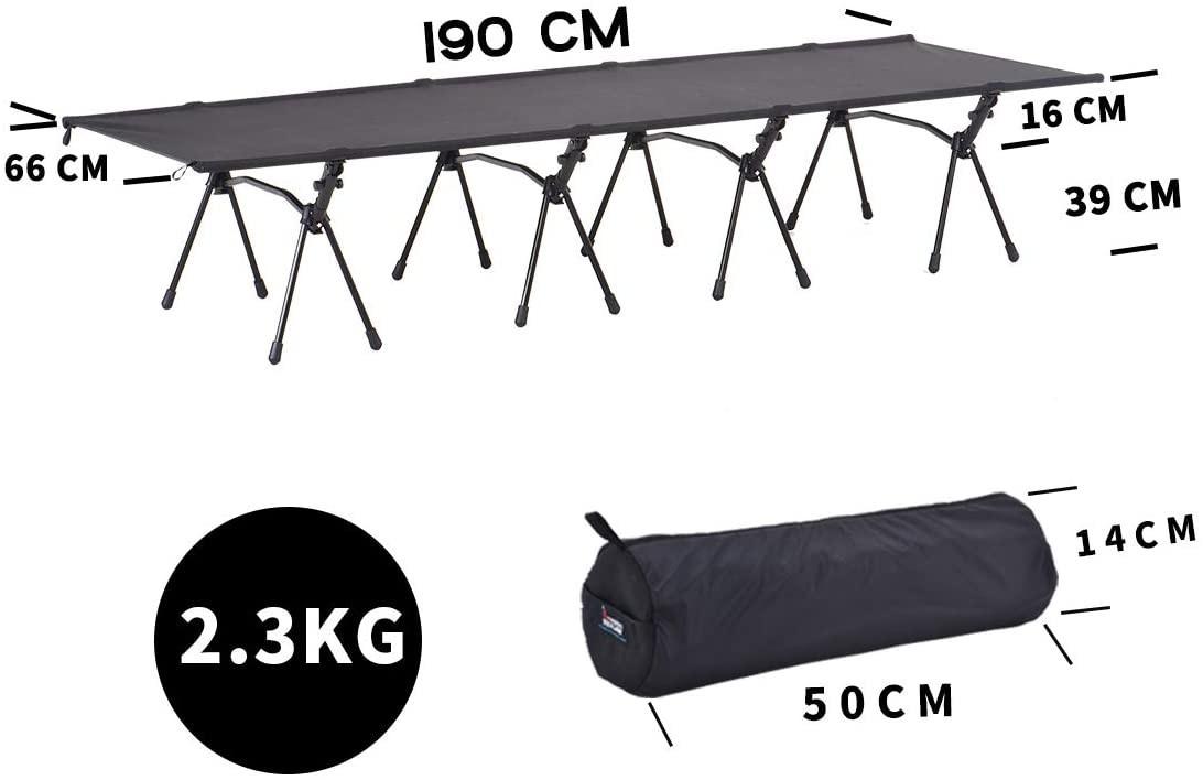 アウトドア ベッド ハイランダーベッド 2.3KG 軽量 コット キャンプ