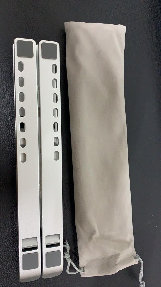 ノートパソコンスタンド MacBook MacBook Pro 折りたたみ式 ノートPC 高さ PCスタンド