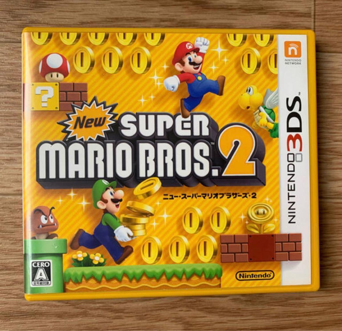 Newスーパーマリオブラザーズ2 3DSカセット