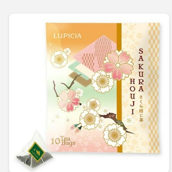【ルピシア】 さくら焙じ茶 ティーバッグ10個入